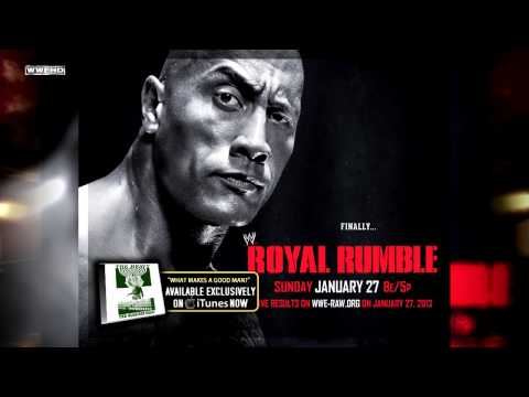 Wwe Royal Rumble 2013 Theme Song - what Makes A Good Man + Download Link video