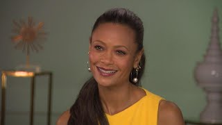 'Solo: A Star Wars Story': Thandie Newton (Full Interview)