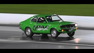 YLD12A PAC PERFORMANCE RX3 COUPE 9.07 @ 151 MPH SYDNEY DRAGWAY 19.12.2014