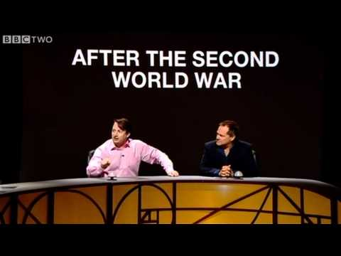 David Mitchell Argues About Naming of WWI - QI - Series 9 Ep 2 - BBC Two