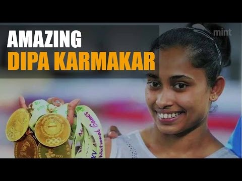 Lesser known facts about Dipa Karmakar. Watch video...