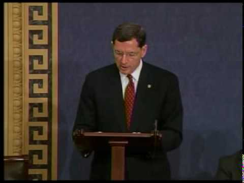 Barrasso says goodbye to Chief of Staff Shawn Whitman