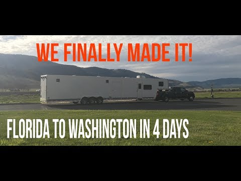 ACROSS THE COUNTRY IN 4 DAYS!
