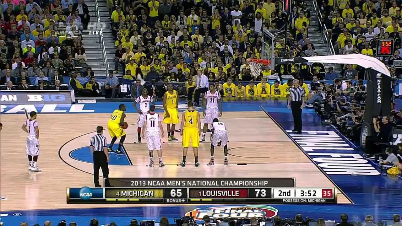 Louisville vs Michigan 2013 NCAA Basketball Championship ...