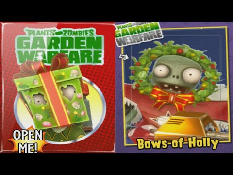 Plants vs Zombies Garden Warfare - Special Holiday Gift Pack