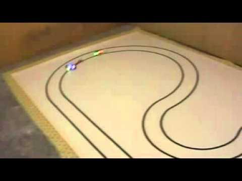 Robots velocista. Pista Nueva.
