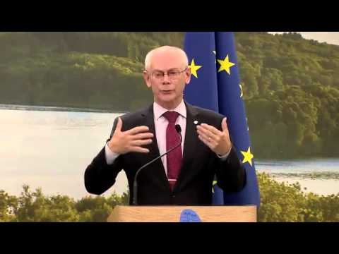 Video: G8 Summit EU press conference