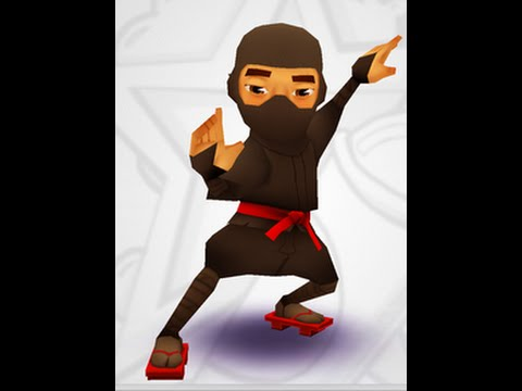 How to Draw Ninja Subway surfer