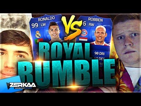 Zerkaa Vs Behzinga | Toty Royal Rumble | Fifa 15 Ultimate Team video
