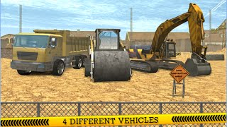City Construction Road Builder - Escapator Boulderser and Truck