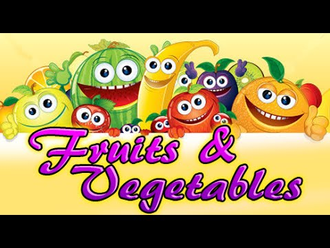 Fruits And Vegetables | Learn Fruits And Vegetables | Natures Magic