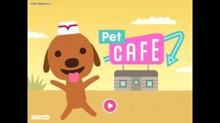 Sago Mini Pet Cafe - app demo for kids