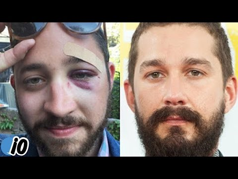Shia LaBeouf Lookalike Sucker Punched & KO'd