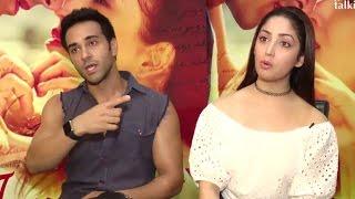 Pulkit Samrat & Yami Gautam During Junooniyat Interview