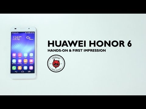 Hands-On Preview: Huawei Honor 6