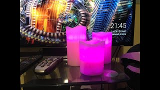 Colour Changing LED Candles