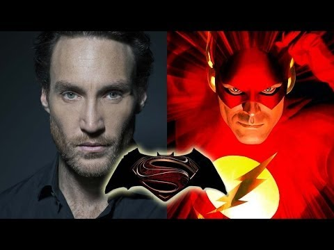 BATMAN VS. SUPERMAN Eyes Villain/The Flash Cameo
