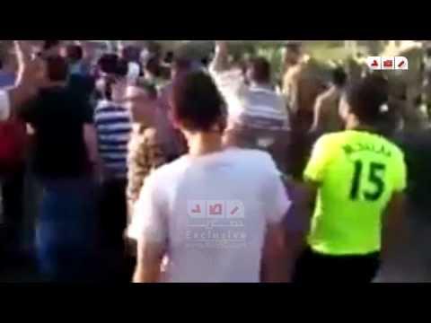 رصد | مسيرة على طريق دسوق فوه للتنديد بأحكام الانقلاب العسكرية