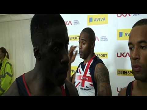 Aviva London Grand Prix - GB 4x100m Mens Relay