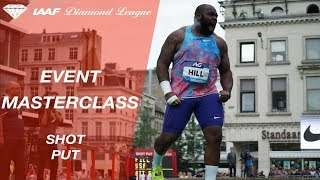 Event masterclass: How to throw the shot put - IAAF Diamond League