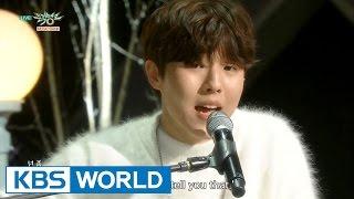 Yu SeungWoo - 45.7cm / Whatever | 유승우 - 선 / 뭐 어때 [Music Bank COMEBACK / 2016.02.05]