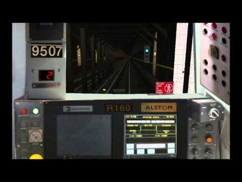 openBVE: NYCT (N) Line: Astoria-Ditmars Blvd - Bay 50th Street (FULL ROUTE)