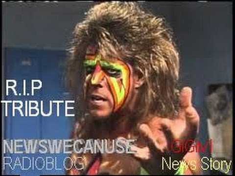 The Ultimate Warrior Dead at 54...(RIP Tribute...