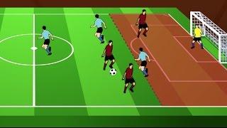 Offside in Soccer (Football) Rule in Under 2 Minutes