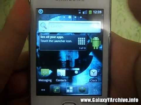 How to install CM7 v2 RC2 on Samsung Galaxy Y