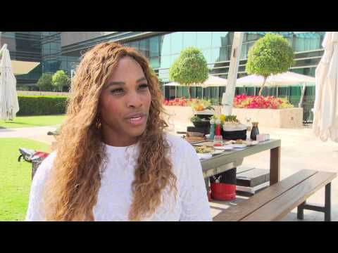 Serena Williams in Gastronomy Grand Slam