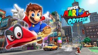 En Vivo de Sabado por la Noche Jugando Super Mario Odyssey