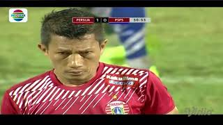 Peluang dan Goal PERSIJA JAKARTA vs PSPS RIAU - Piala Presiden 2018