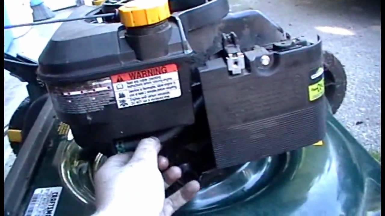 Craftsman Lawn Mower Service Youtube