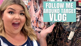 SHOPPING TARGET'S NEW PLUS SIZE CLOTHES | Weekly Vlog #23 | LearningToBeFearless
