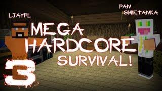 [#3] Minecraft - Pan Śmietanka z Jaskiniowcem - Mega Hardkorowy Survival - Indiana Śmietanka #2,5