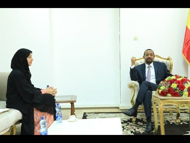 PM Abiy meets with UAE's Minister of State for Int. Cooperation