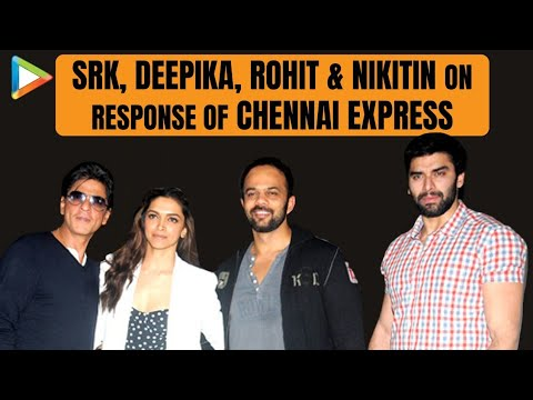 SRK-Deepika-Rohit-Nikitin's Rocking 'Chennai Express' Interview
