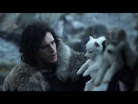 Game Of Thrones S01E01   First Direwolf Scene #1