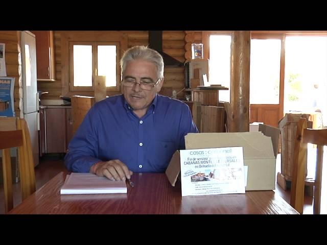 Sorteo Septiembre 2012 Casas Carbonell, fin de semana para 4 personas en Cabañas Montes Universales