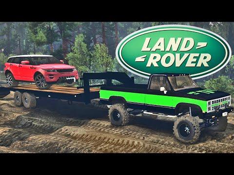 Transportando Land Rover - Spin Tires 2014