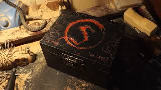 Wooden Box for Smaug Pipe. Wood Carving.
