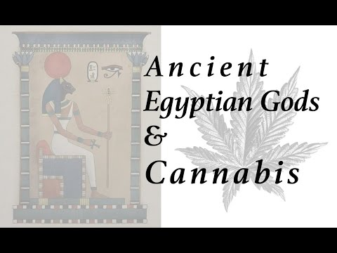Are there any Ancient Egyptian Gods associated with Cannabis?