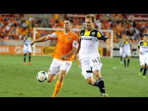 HIGHLIGHTS: Houston Dynamo vs Columbus Crew | August 3, 2013