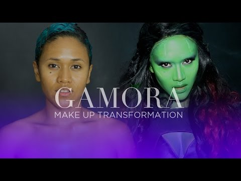 GAMORA Transformation | Guardians of the Galaxy