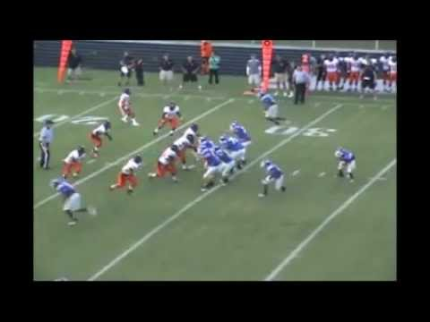 Caleb Fuller #8 New Hanover High School Senior Highlights