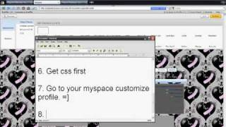 HOw to change/put myspace 2.0 layouts