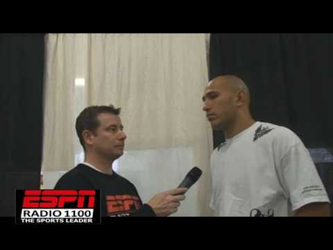 BRANDON VERA on critics and Mark Munoz w/Cofield from CageWriter.com and ESPNRadio1100 Video