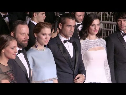 Colin Farrell, Rachel Weisz, Lea Seydoux and more on the red carpet of The Lobster in Cannes