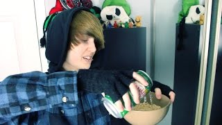 EATING CEREAL WITH SODA // Truth or Dare