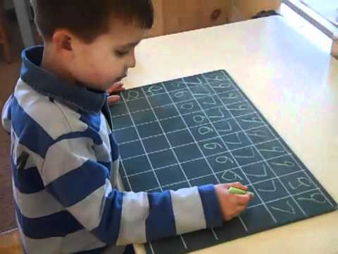 Middleburg Montessori School: Number Chalkboard